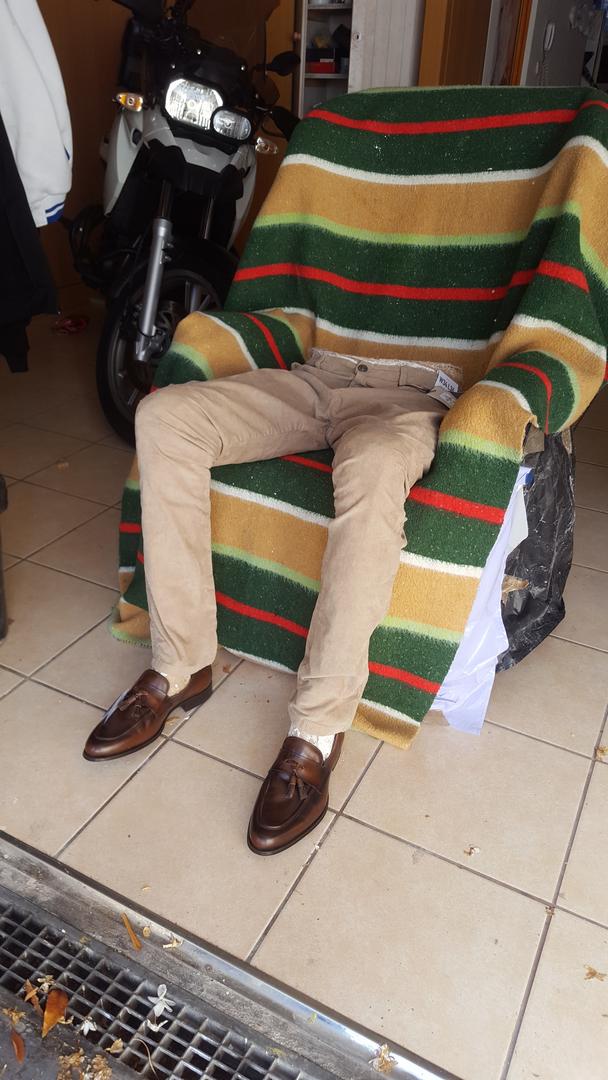 Proceso 'El hombre sentado en el sofá'